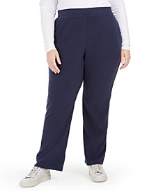 Plus Size Warm-Up Pants, Created For Macy's