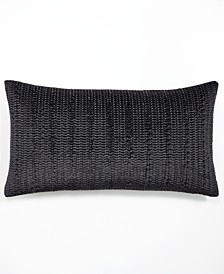 "Hotel Collection Linear Chevron 14"" x 24"" Decorative Pillow"