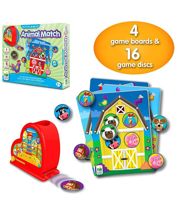 The Learning Journey My First Grab It- Animal Match