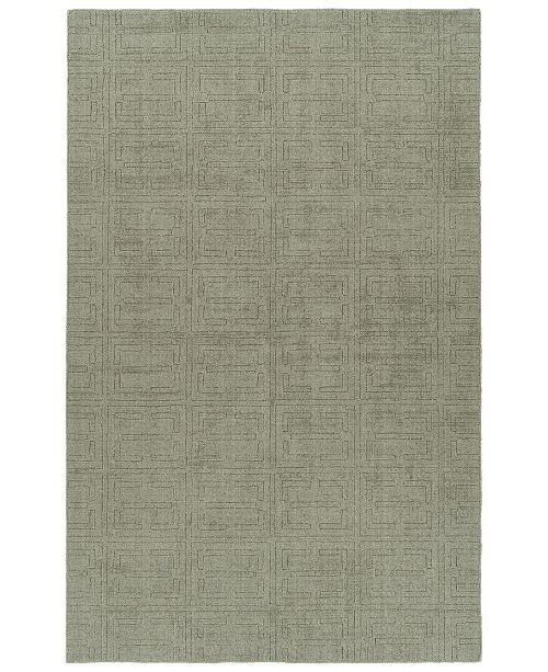 Kaleen Minkah MKH05-75 Gray 5' x 7' Area Rug