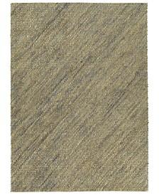 Kaleen Tulum Jute TUL01-103 Slate 2' x 3' Area Rug