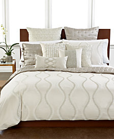 CLOSEOUT! Hotel Collection Finest Luster Queen Duvet Cover