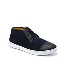 Plain Toe 3 Eyelet Chukka Boot