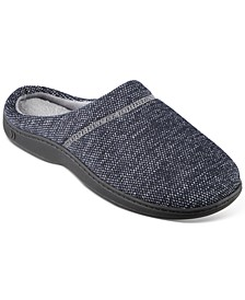 Men's Javier Mesh Hoodback Slippers