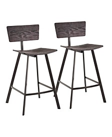 Rocco Counter Stool, Quick Ship (Set of 2)