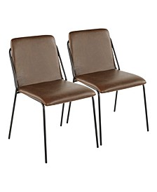 Stefani Dining Chair, Set of 2