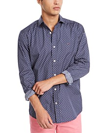 Men's Kendall Classic-Fit Geo-Print Shirt