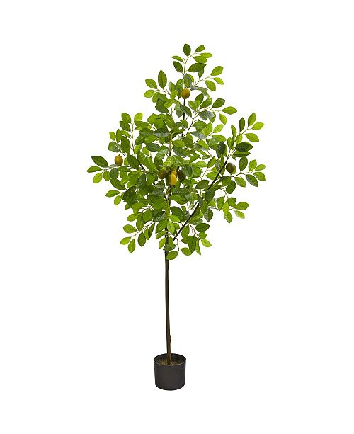 """Nearly Natural 61"""" Lemon Artificial Tree"""