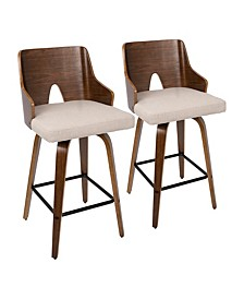 Arianna Counter Stool, Set of 2