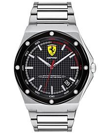 Men's Aspire Stainless Steel Bracelet Watch 44mm