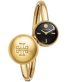Women's Blair Bangle Gold-Tone Stainless Steel Bracelet Watch 22mm