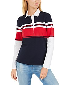 3-Button Rugby Polo Shirt, Created for Macy's