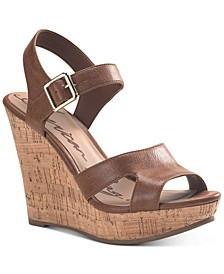 Rochelle Platform Wedge Sandals, Created for Macy's