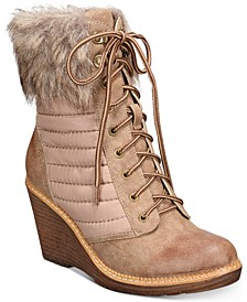 Soho Ames Wedge Booties
