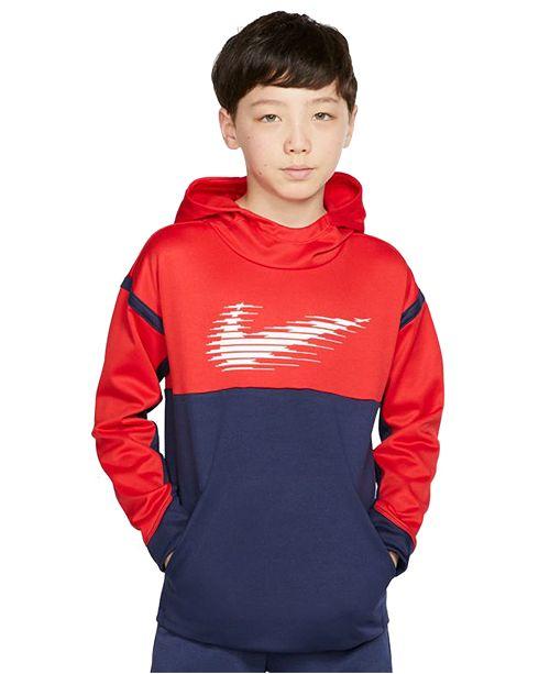 Nike Big Boys Therma Fleece Hoodie
