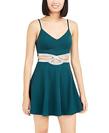 Juniors' Infinity Cutout Dress