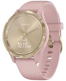 Garmin vívomove 3S Dust Rose Silicone Strap Touchscreen Hybrid Smart Watch 39mm
