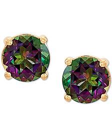 Mystic Topaz Stud Earrings (1-1/6 ct. t.w.) in 14k Gold
