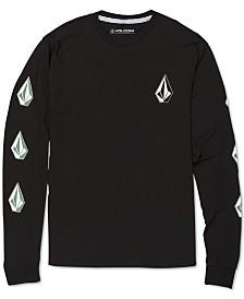 Volcom Logo-Print Cotton T-Shirt, Big Boys (8-20)
