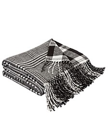 Woven Reversible Plaid Throw