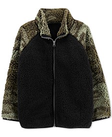 Carter's Little & Big Boys Camo-Print Fleece Jacket