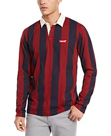 Men's Regular-Fit Stripe Polo Shirt