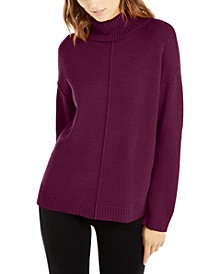 Dropped-Shoulder Turtleneck, Created For Macy's