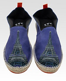 I Love Paris Men's Espadrilles