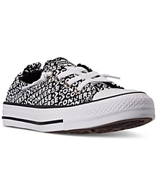 Women's Chuck Taylor All Star Shoreline Wordmark Casual Sneakers from Finish Line