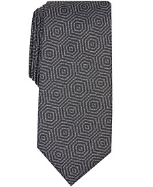 Men's Debin Abstract Plaid Tie, Created For Macy's