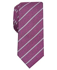 Men's Slim Stripe Tie, Created for Macy's