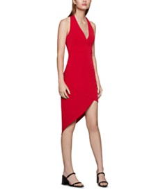 BCBGeneration Strappy Asymmetrical Dress