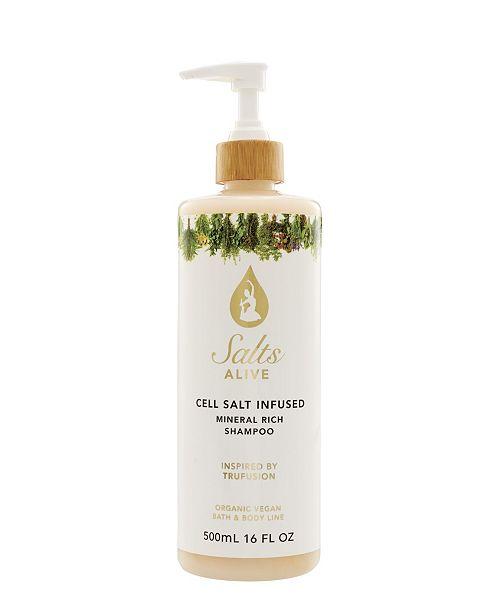 Tiffany Andersen Brands Cell Salt Infused Shampoo feat. Hemp Seed Oil