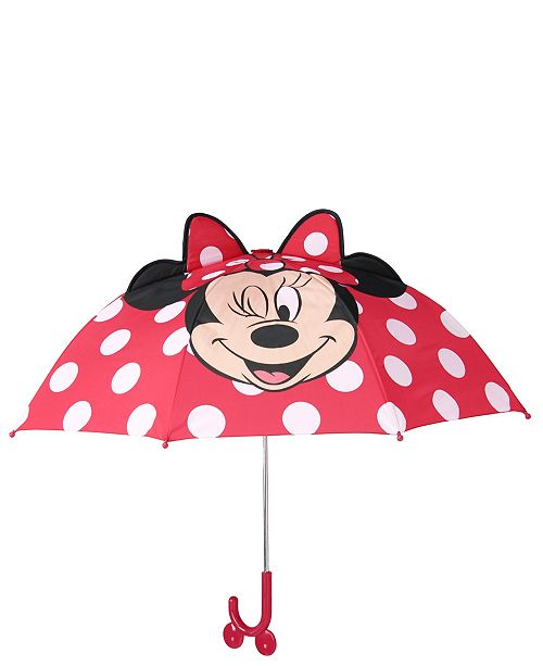 Western Chief Girl's Minnie Mouse Umbrella