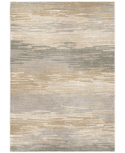 "Palmetto Living Riverstone Distant Meadow Bay Beige 7'10"" x 10'10"" Area Rug"
