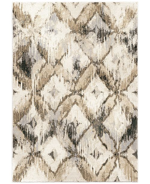"Palmetto Living Riverstone Havana Natural 6'7"" x 9'6""  Area Rug"