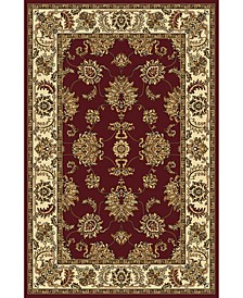 """CLOSEOUT! 1330/1232/BURGUNDY Navelli Red 7'9"""" x 9'6"""" Area Rug"""