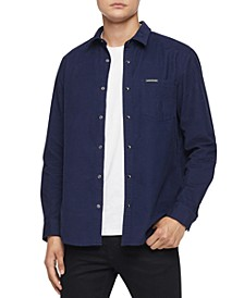 Men's Regular-Fit Corduroy Western Shirt