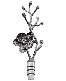 Black Orchid Bottle Stopper