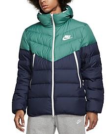 Men's Windrunner Colorblocked Puffer Jacket