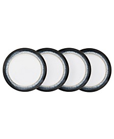 Halo Set of 4 Wide Rimmed Dinner Plate