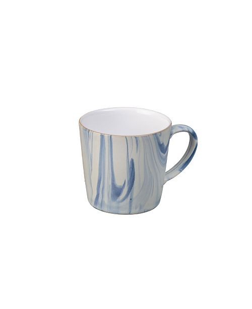 Denby Blue Marbled Large Mug