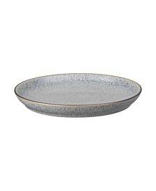 Studio Craft Grey Coupe Dinner Plate