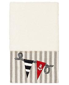 100% Turkish Cotton Ethan Embellished Hand Towel