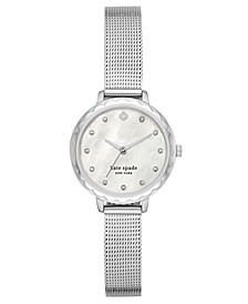 Women's Morningside Midi Stainless Steel Mesh Bracelet Watch 28mm