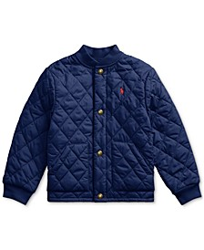 Toddler Boys Quilted Water-Repellent Jacket