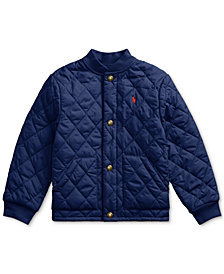 Polo Ralph Lauren Little Boys Quilted Water-Repellent Jacket
