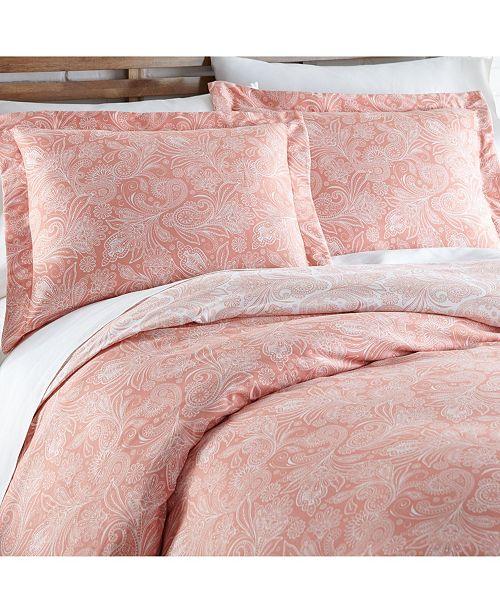 Southshore Fine Linens Perfect Paisley Down Alt 3 Piece Reversible Comforter Set