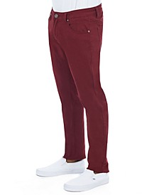 Men's Slim Fit Super Stretch Colored Denim Pants
