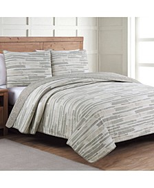 Estate Algarve 3 Piece Full/Queen Quilt Set